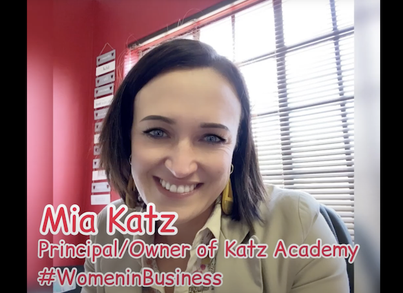 Mia Katz – Principal & Owner of Katz Academy